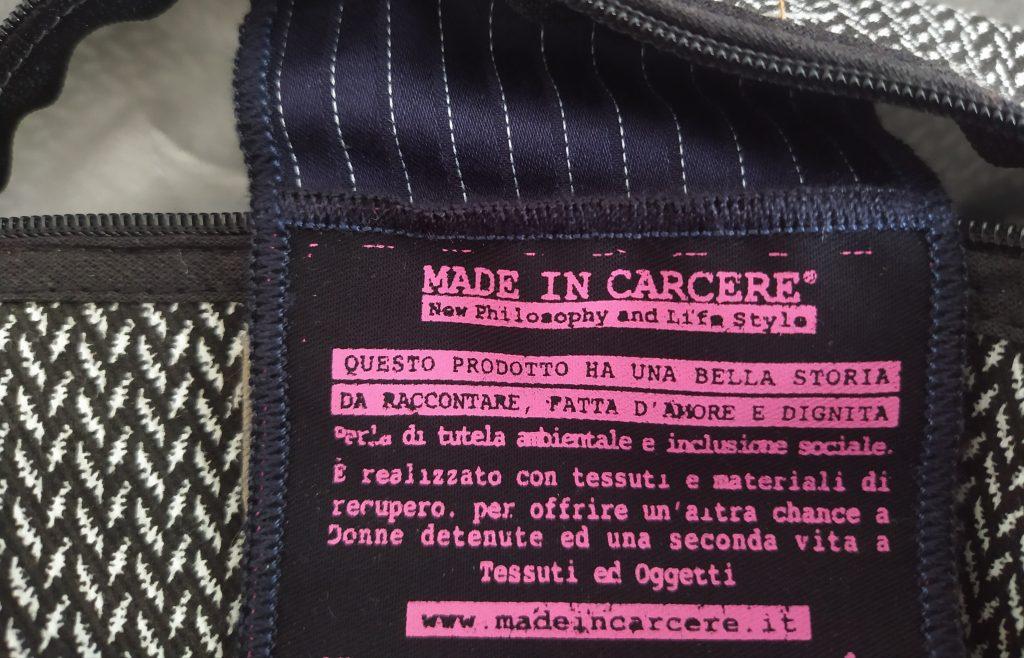 Martina Di Domenico IdentitàInSorgenti Prodotti Made In Carcere