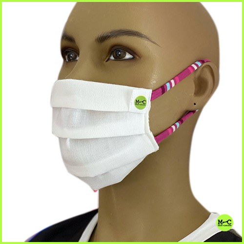 KIT mascherina braccialetto con moschettone