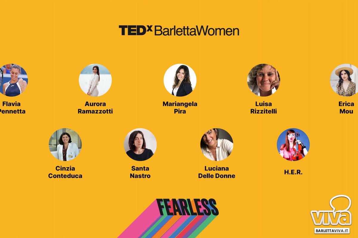 Protagoniste TEDx BarlettaWomen Fearless