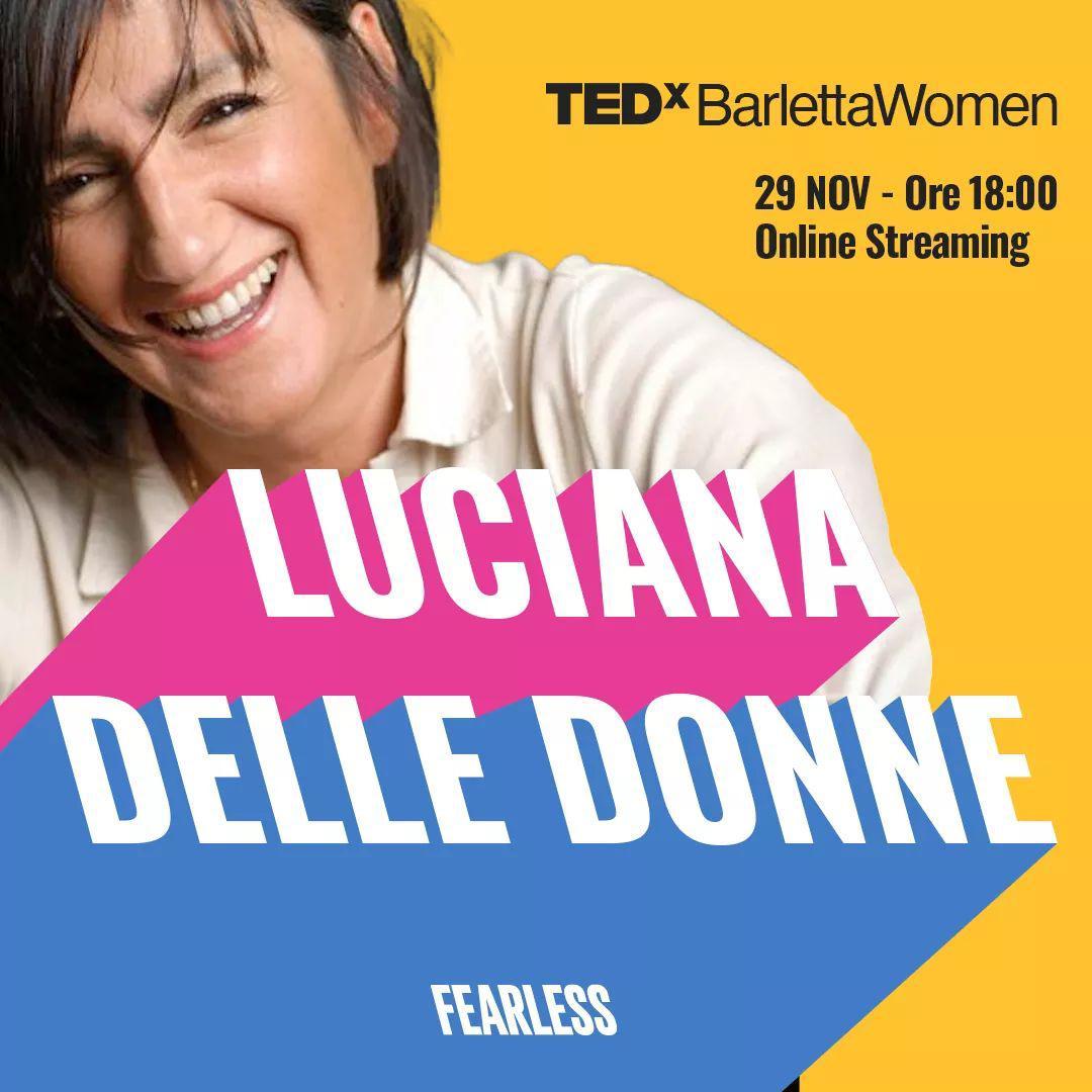 Luciana Delle Donne TEDx Barletta Women Made In Carcere