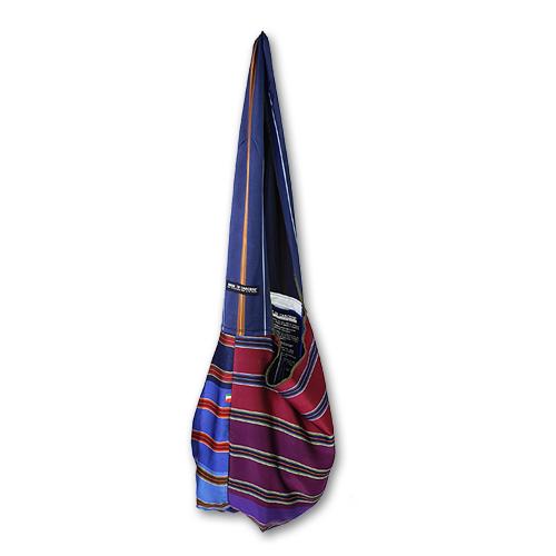borsa inquadrata grande di seta